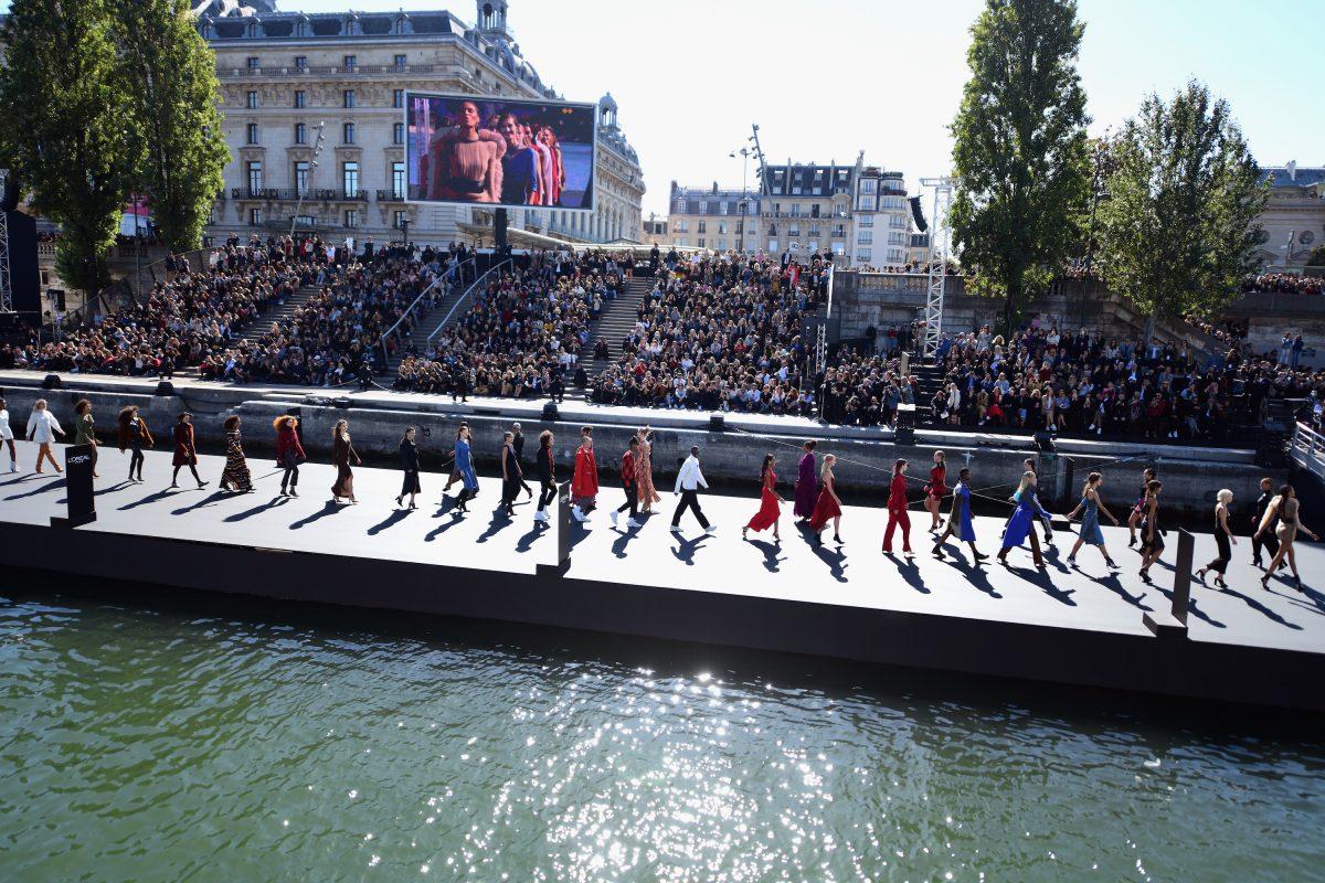 Of Chopard, The Siene River, And Le Défilé L'Oréal Paris