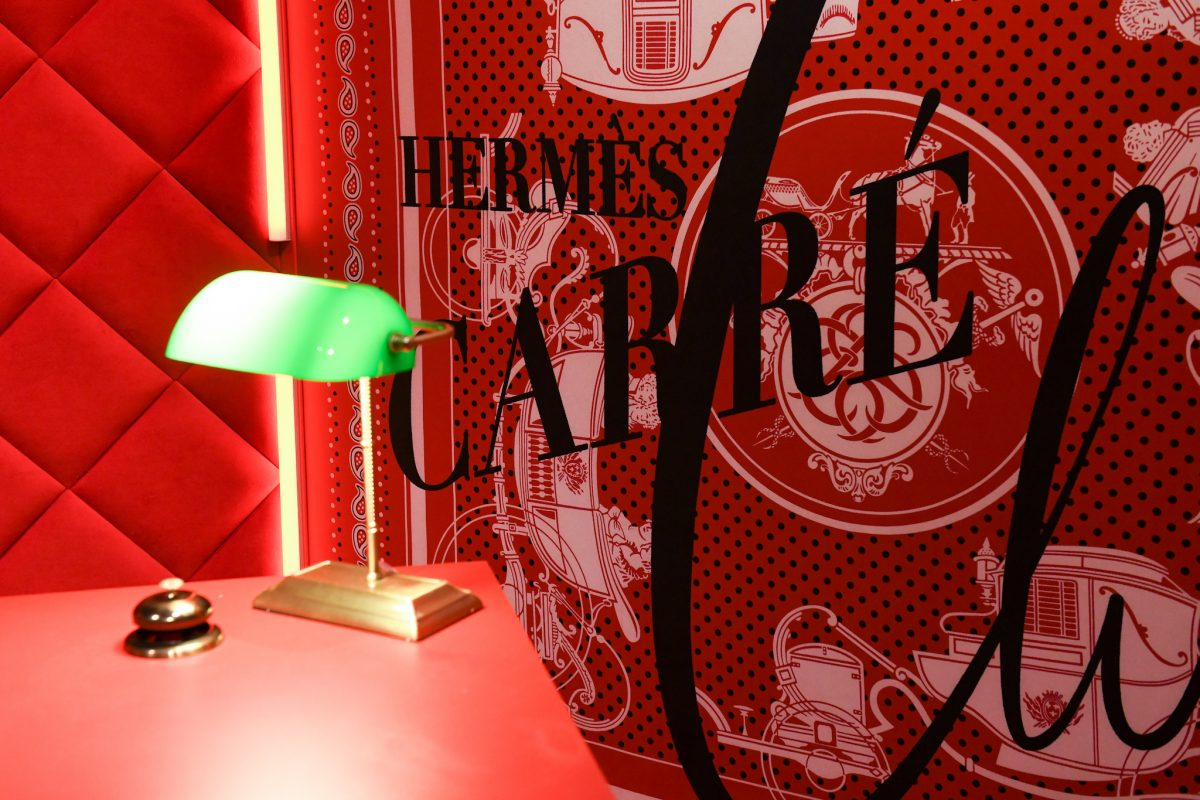 Hermès Carré Club Pays Tribute To The Iconic Silk Scarf With An Immersive Pop-Up