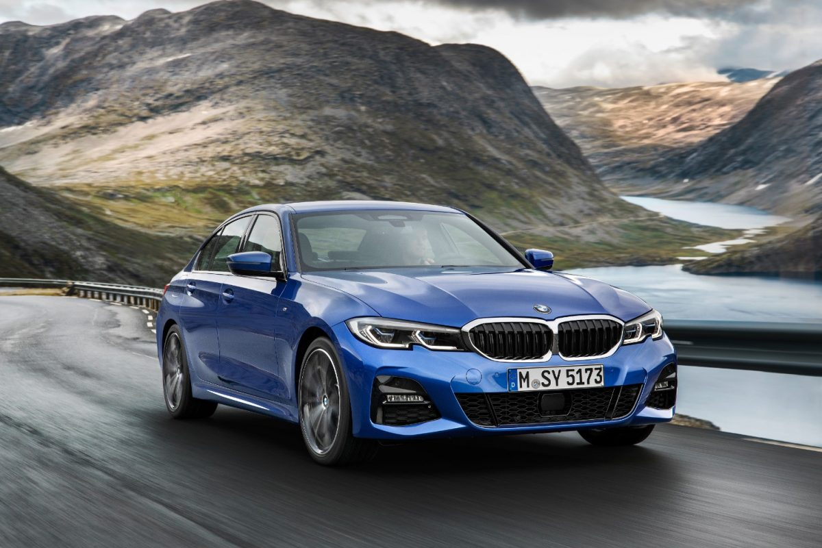 First Look: The New BMW 3 Series Sedan.