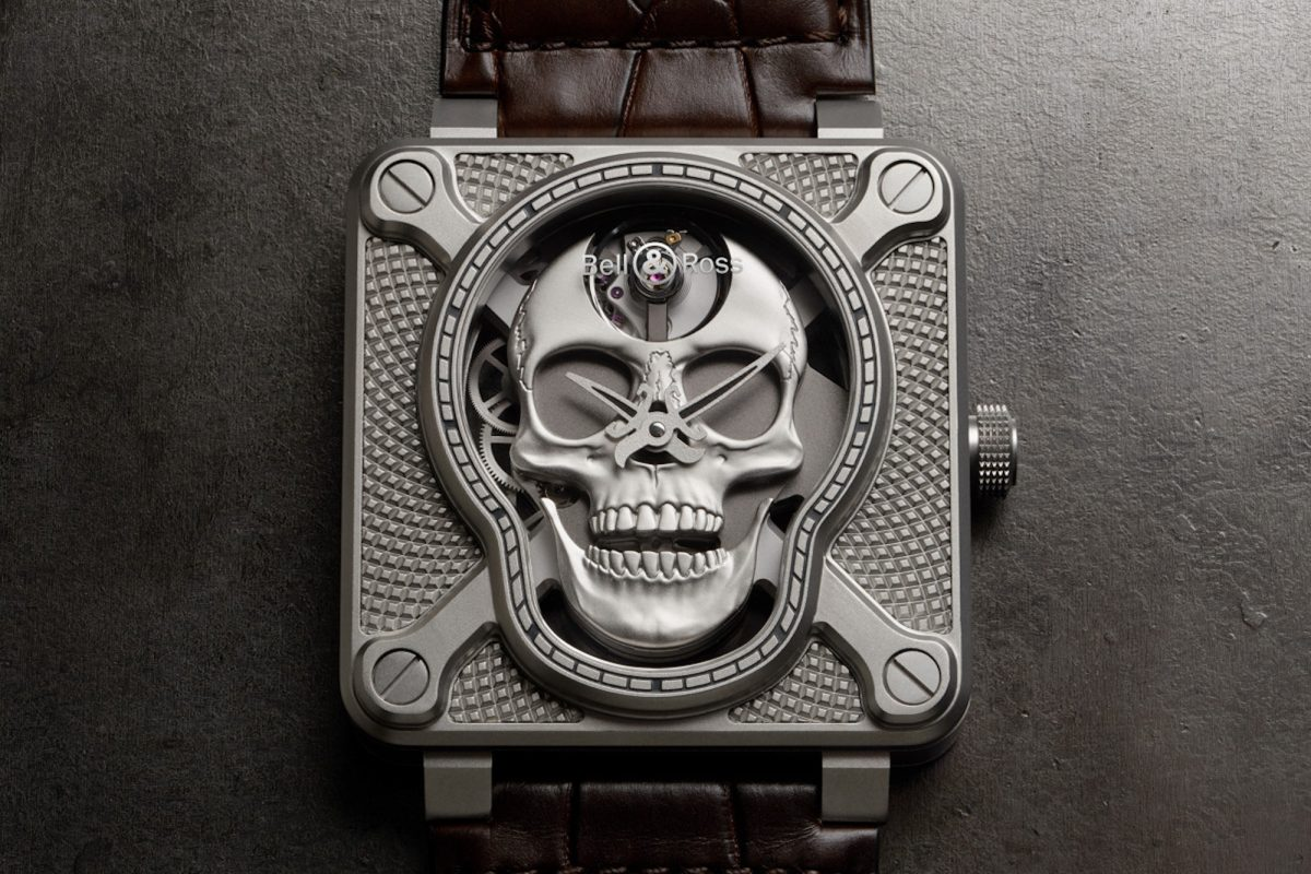 The BR 01 Laughing Skull By Bell & Ross Will Put A Smile On Your Face