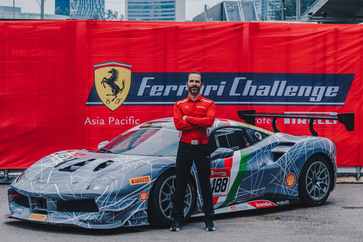 Louis Colmache Talks About The Joys Of Racing In A Ferrari As A Hobby