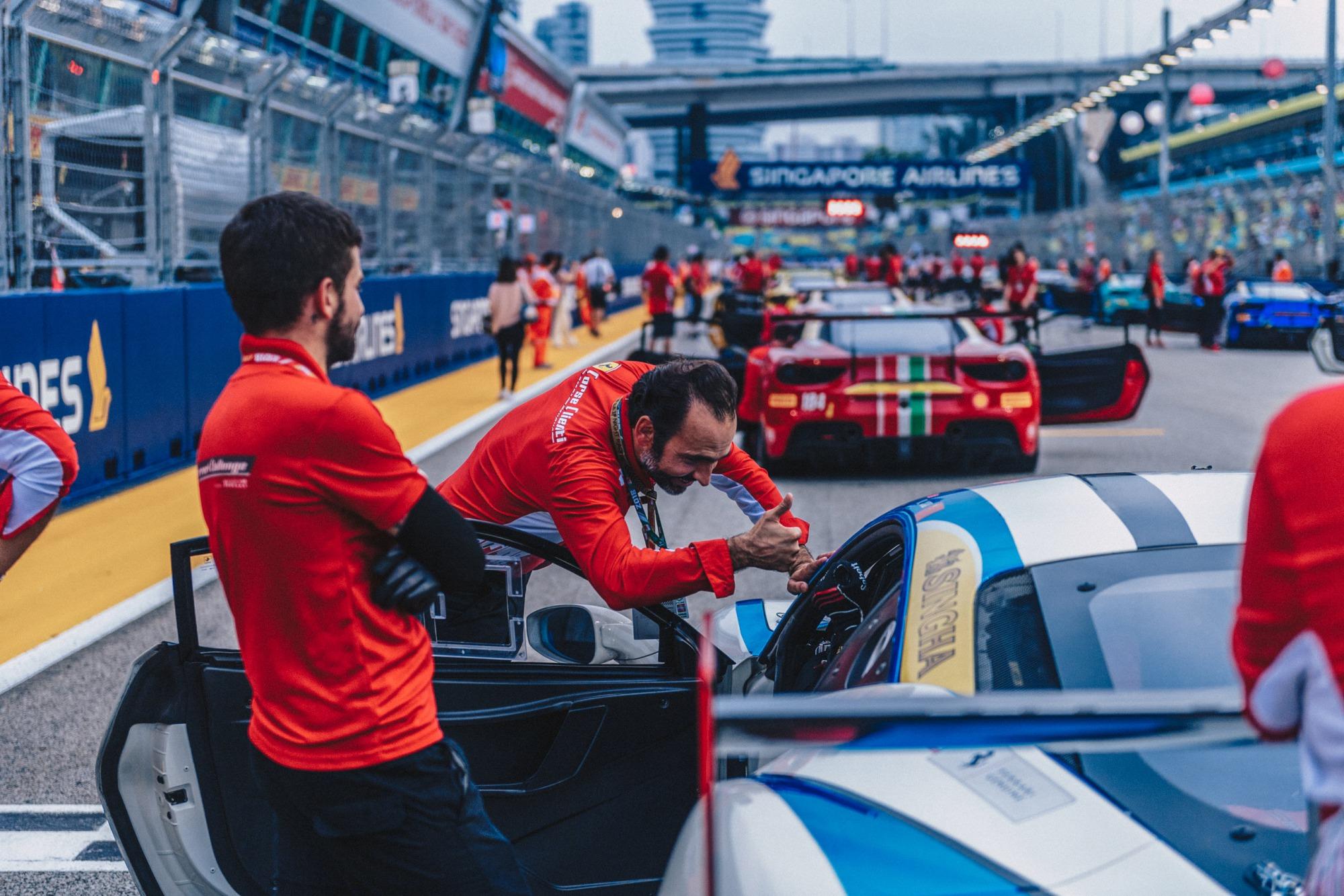 Louis Colmache Ferrari Corse Clienti Ferrari Challenge