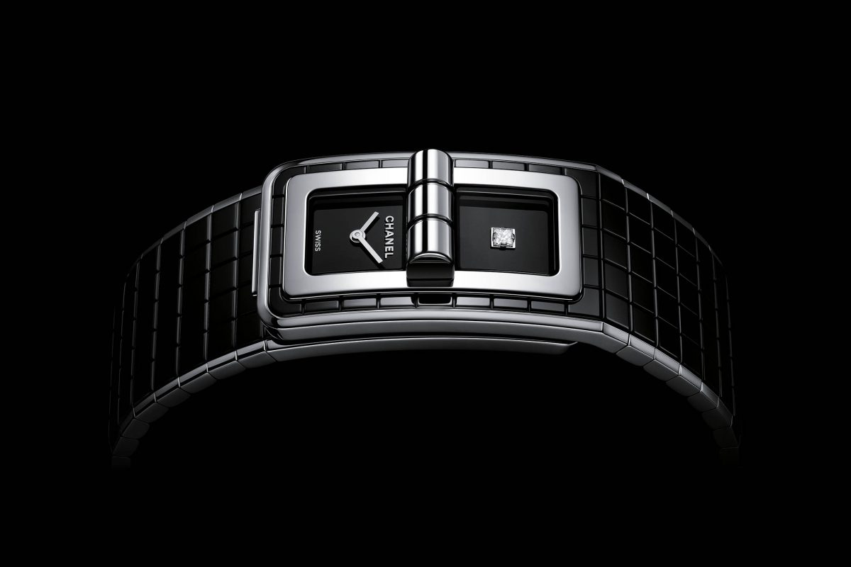 It's Back To Black For Chanel's Newest Code Coco Watch