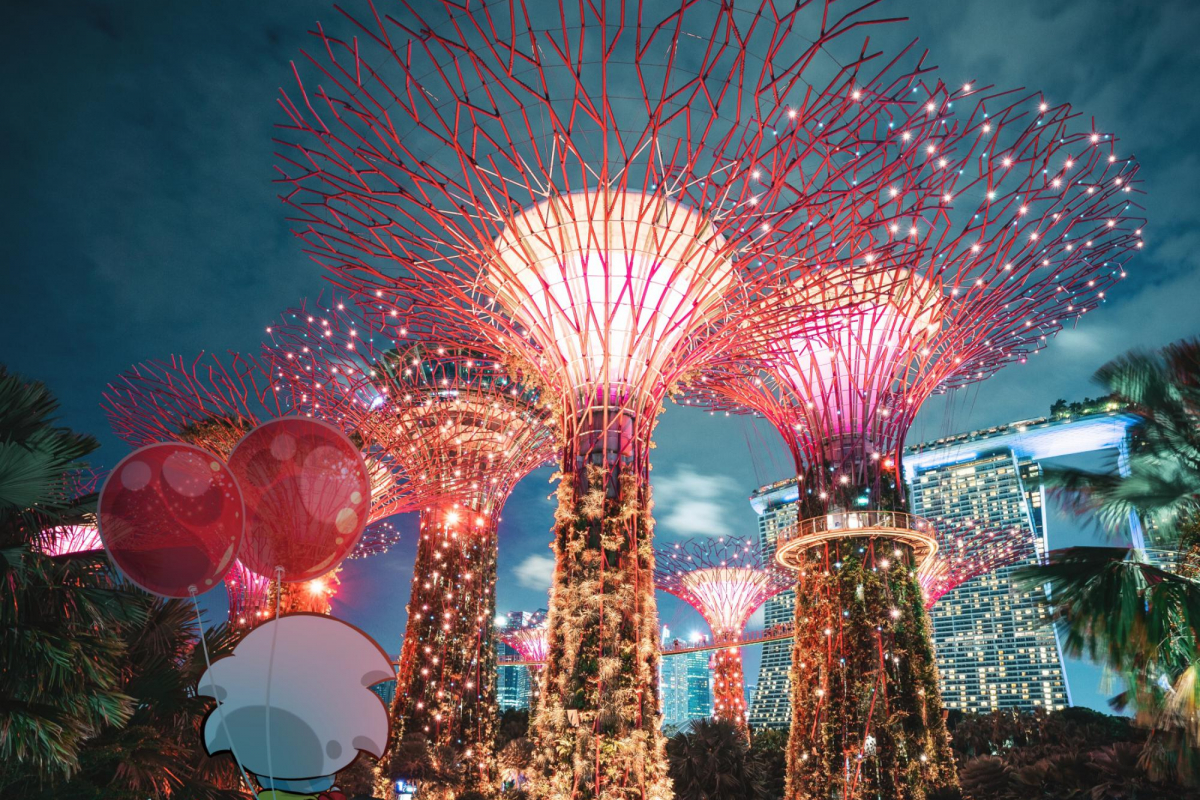 Ai Travel Guide: Gardens By The Bay With Colourblind Photographer Jeryl Teo