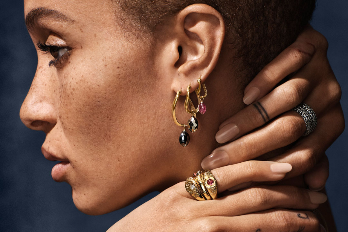 John Hardy's Holiday 2018 Capsule Collection with Adwoa Aboah