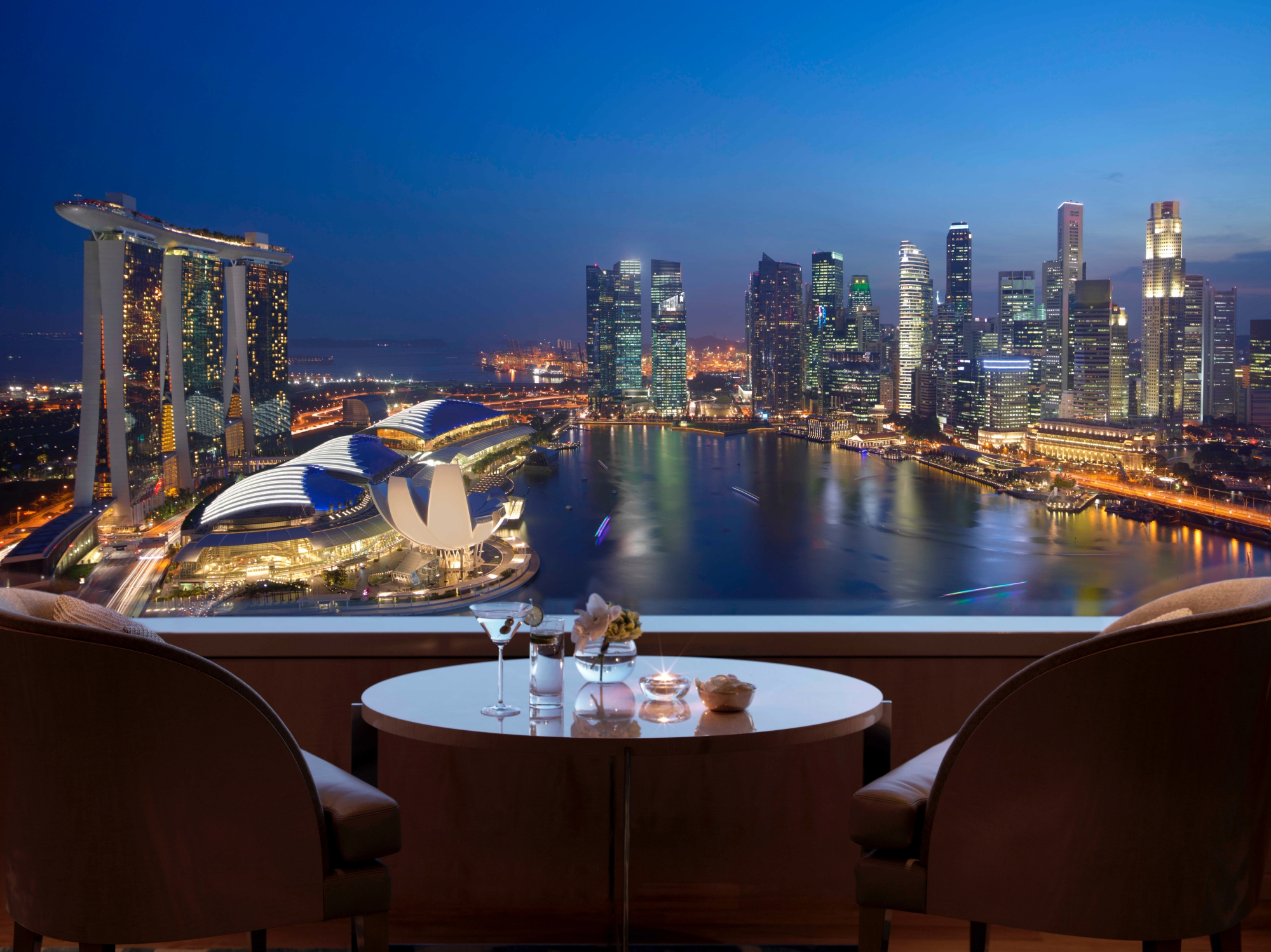 The Ritz-Carlton, Millenia Singapore canvas of views