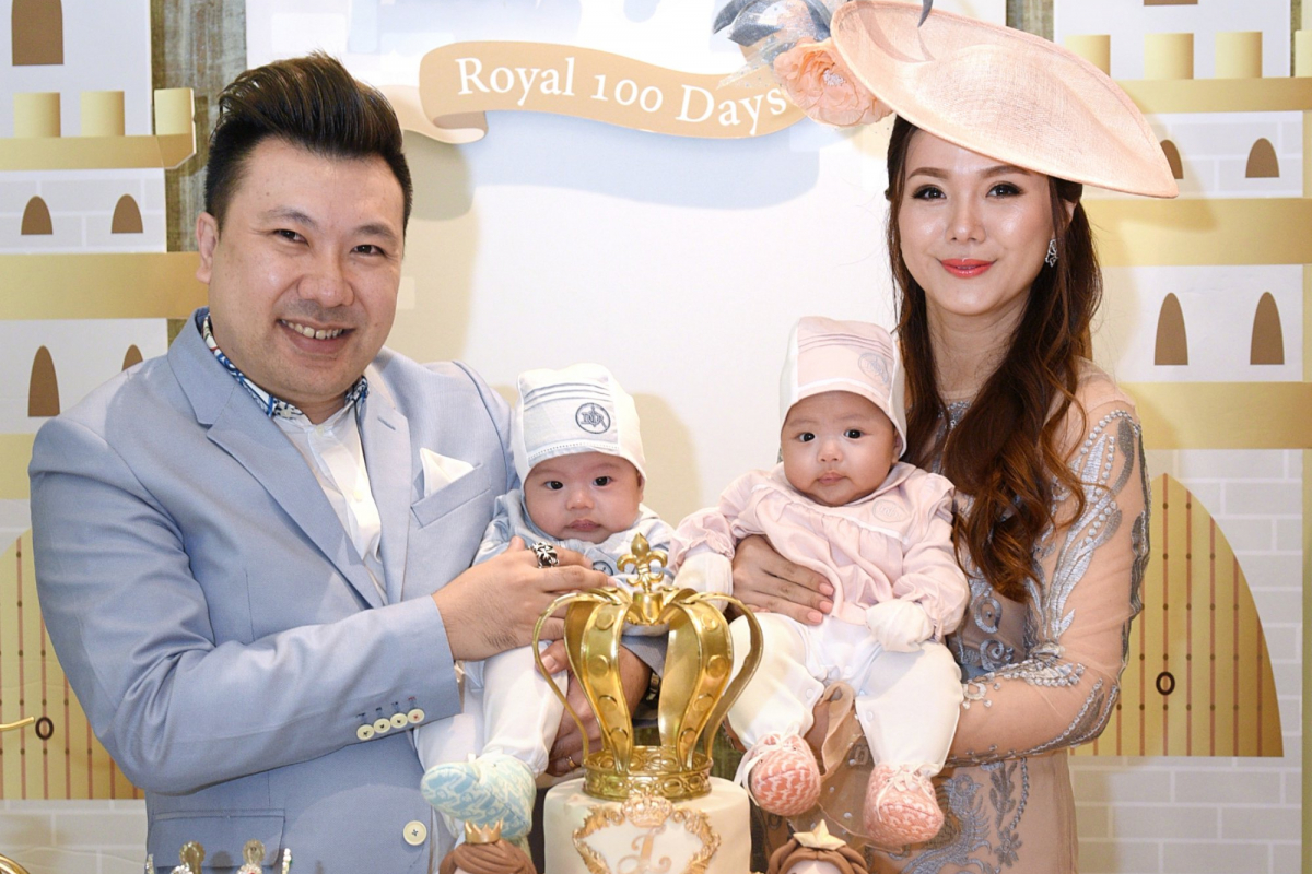 Event Photo Gallery: Chermaine Pang And Terence Siew Throw A 100th-Day Party For Their Twins