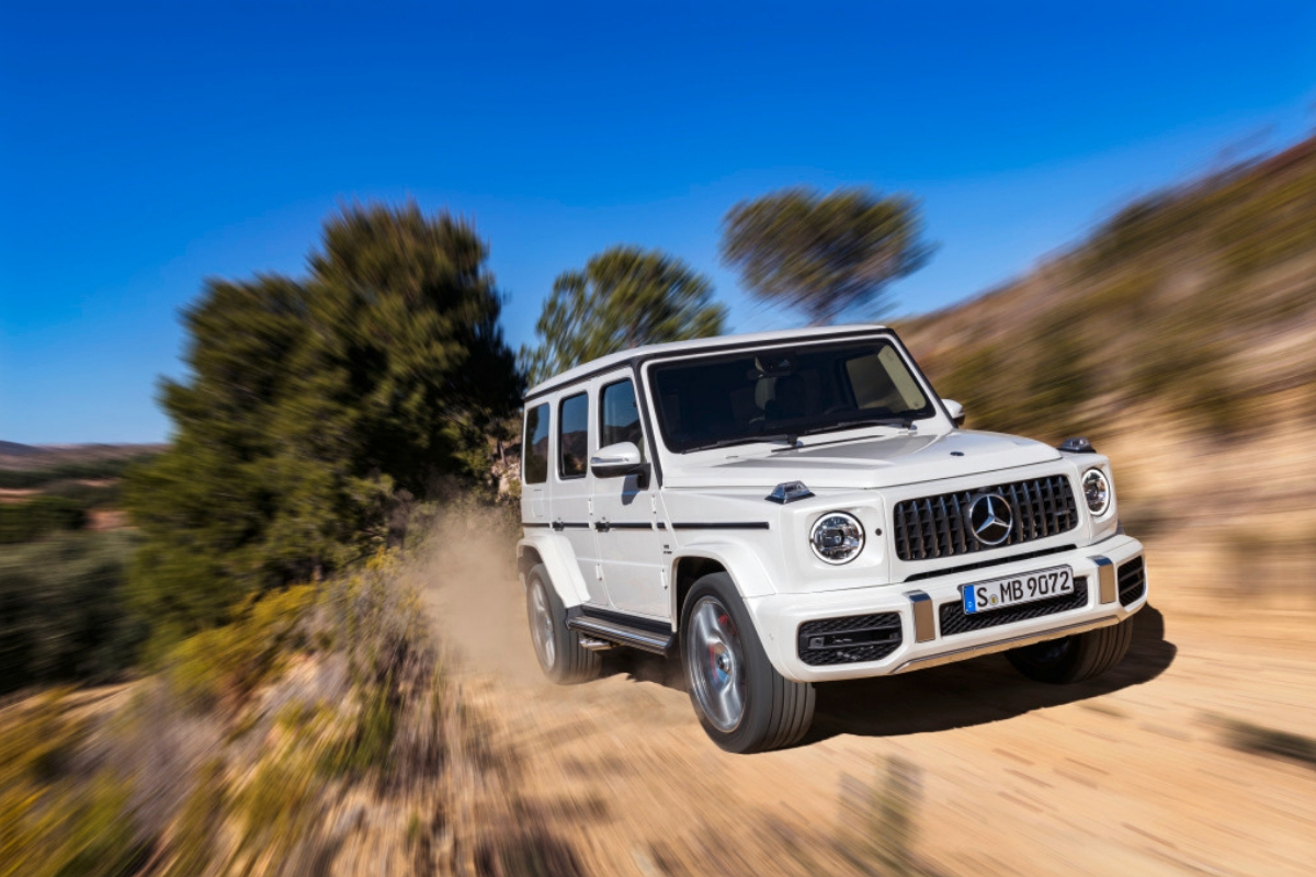 The Mercedes-AMG G 63 Launches in Hong Kong
