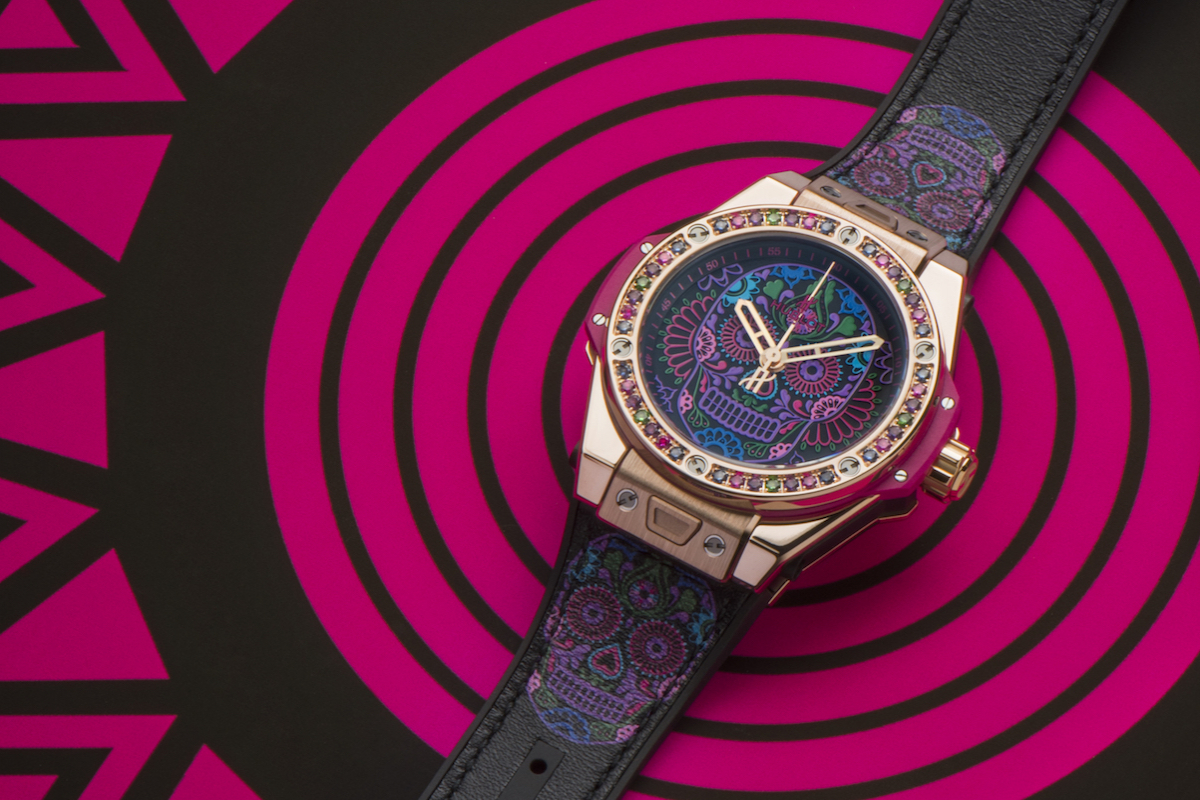 The Newest Big Bang By Hublot Pays Homage To Mexico's Day Of The Dead