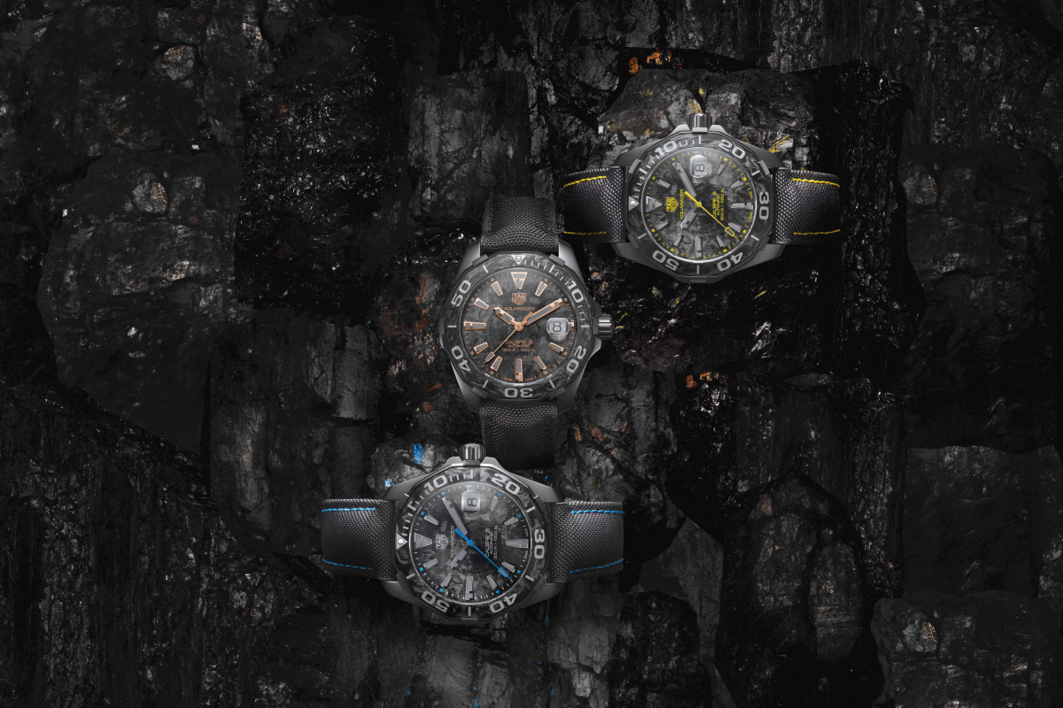 The Carbon Aquaracer by Tag Heuer