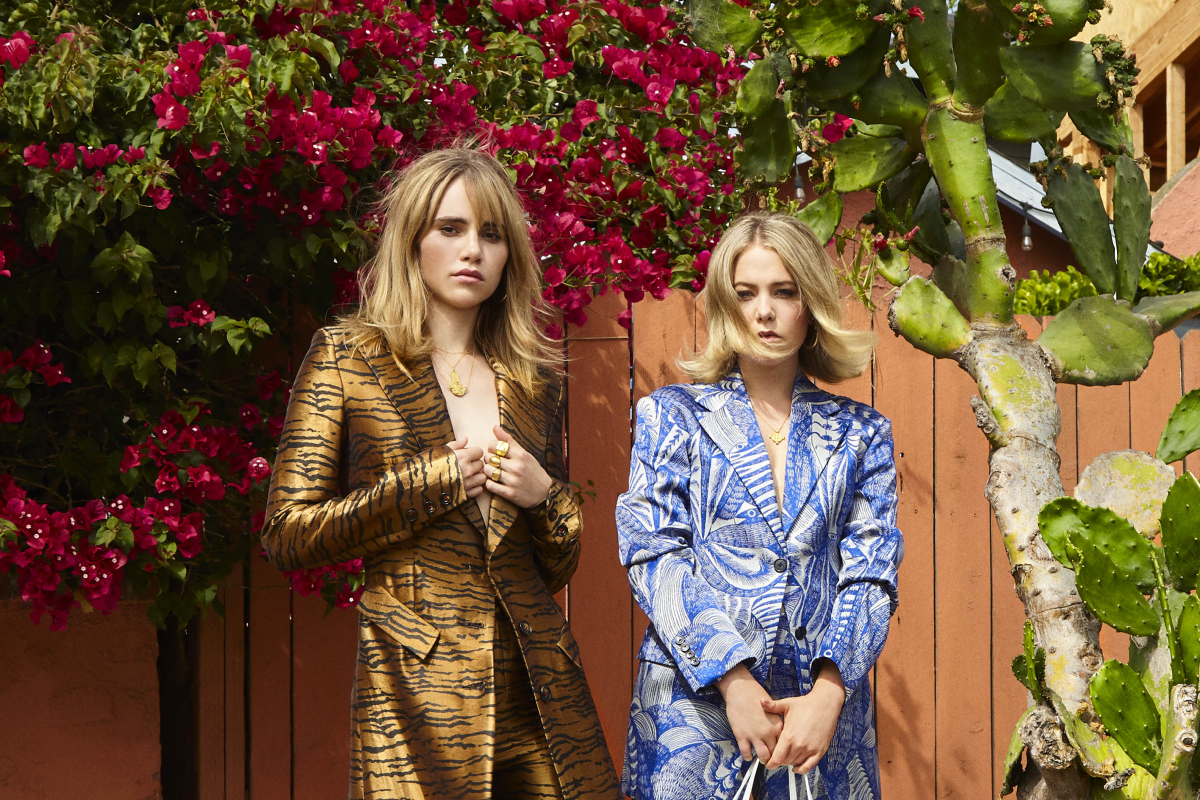 Hanging Out with California Girls Suki Waterhouse and Poppy Jamie