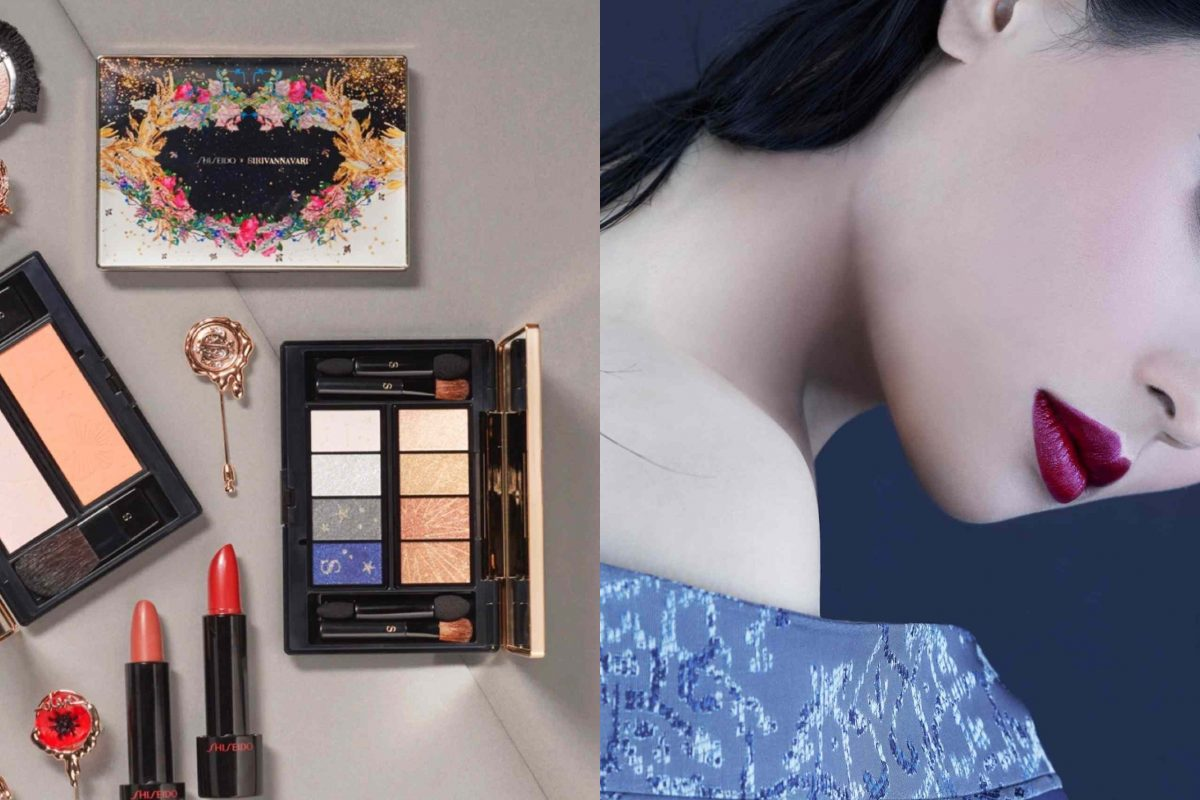 """SHISEIDO X SIRIVANNAVARI Princess Hanayaka"" is this season's ultimate makeup must-have"