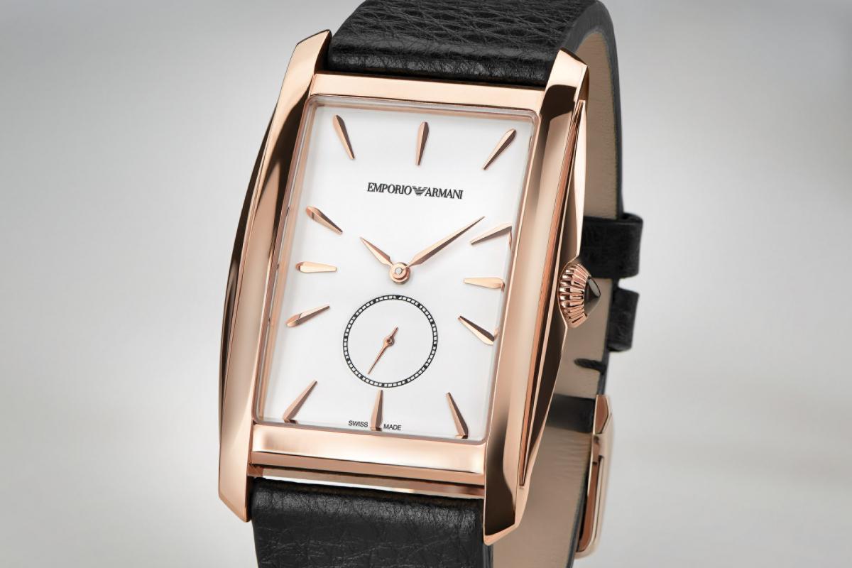 Emporio Armani Presents: How to Wear Autumn Timepieces