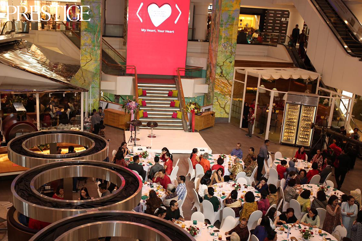37th-Anniversary of Yayasan Jantung Indonesia at La Moda, Plaza Indonesia