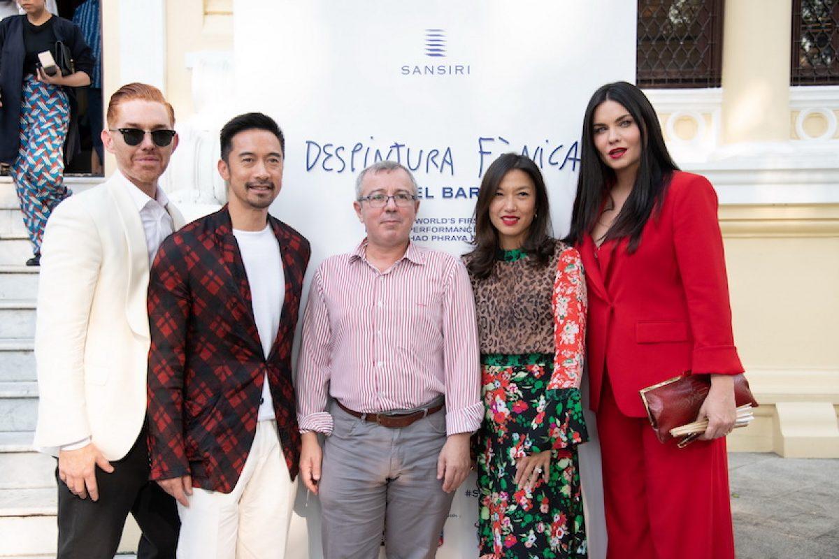 Sansiri Invites Celebrities to Enjoy Live Art Performance by Miquel Barceló