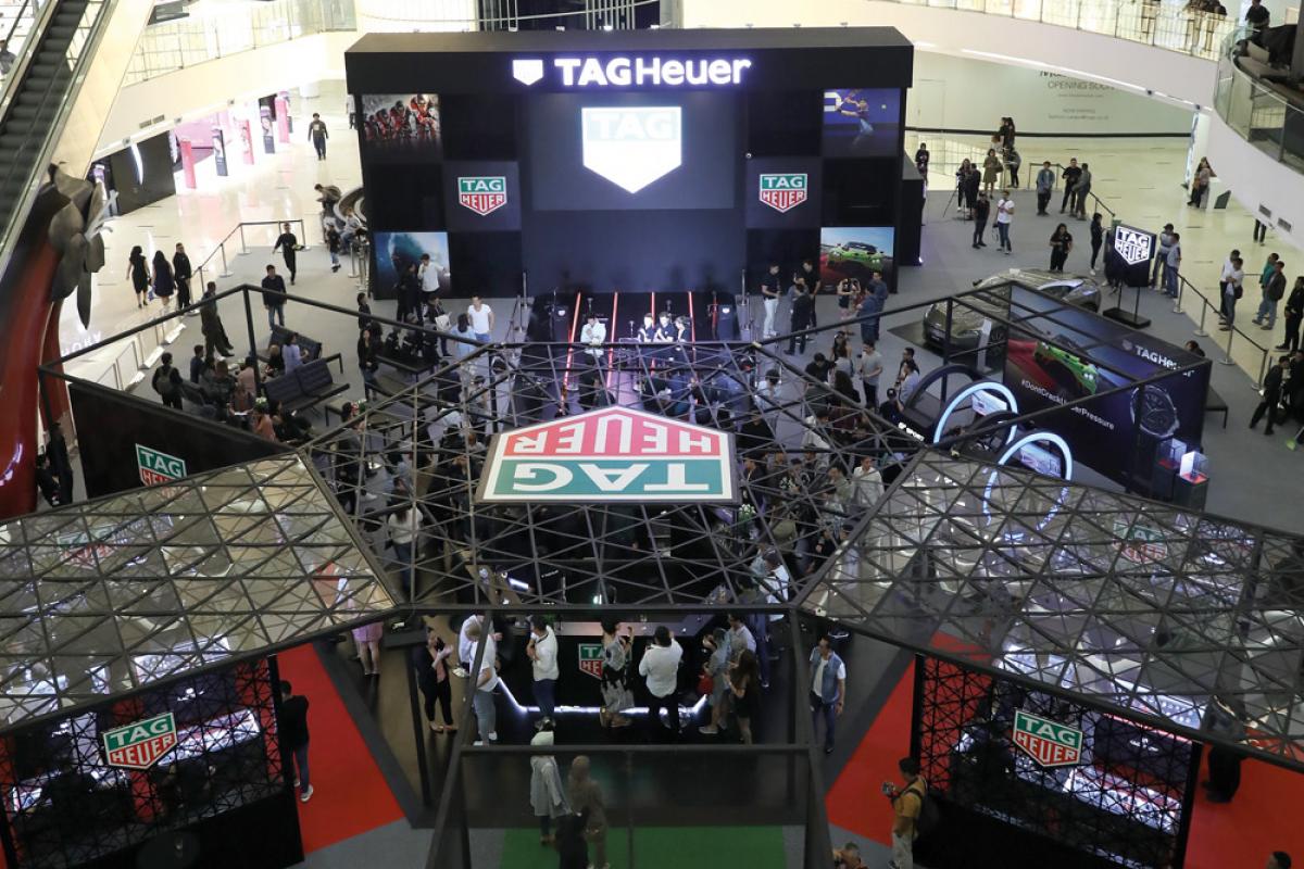 Tag Heuer's Sports Hub Exhibition at Senayan City