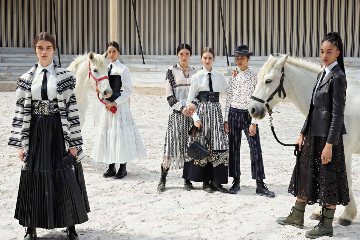 Dior Pays Tribute to the Escaramuzas in Dior Cruise 2019 Collection