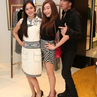 Ariel Mok, Stella Lee and Henry Mok