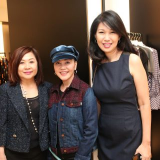 Lilian Low, Emily Piak and Laura Lim
