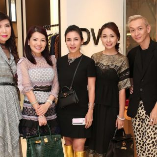 Sharon Heng, Angela Ng, Fanty Soenardy, Kelly Keak and Lionnel Lim