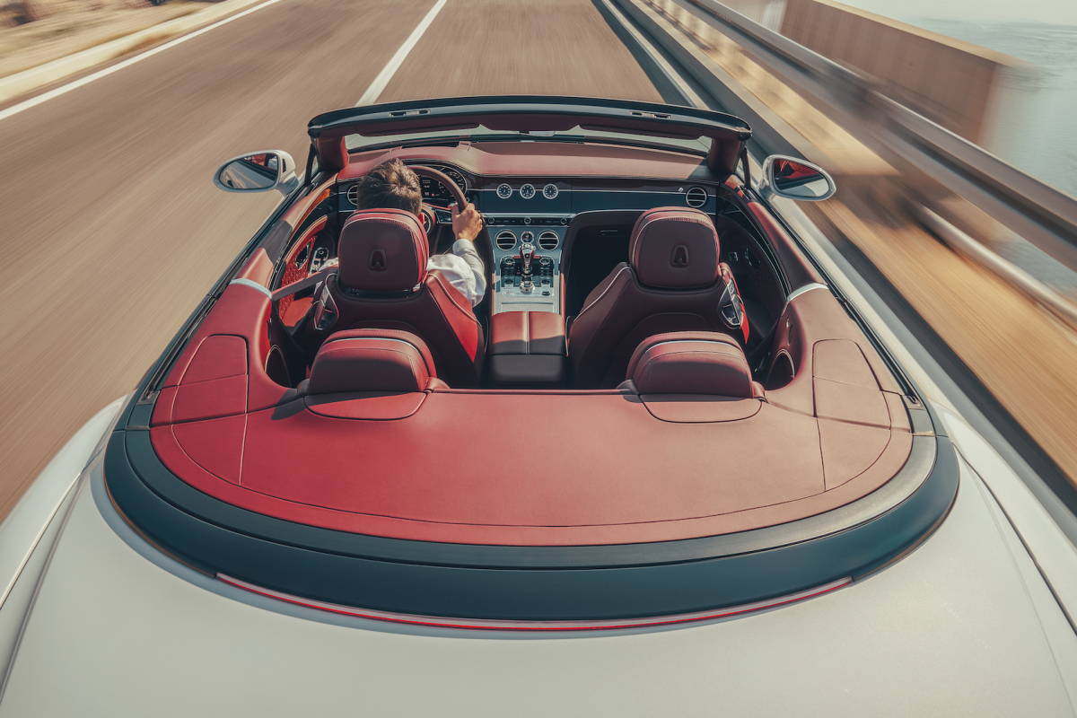 For Roofless People: Bentley Continental GTC
