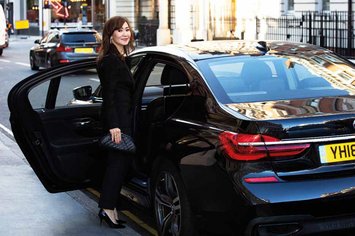 Art Patron Trip with Christina Lim with BMW 7 Series From London to Berlin