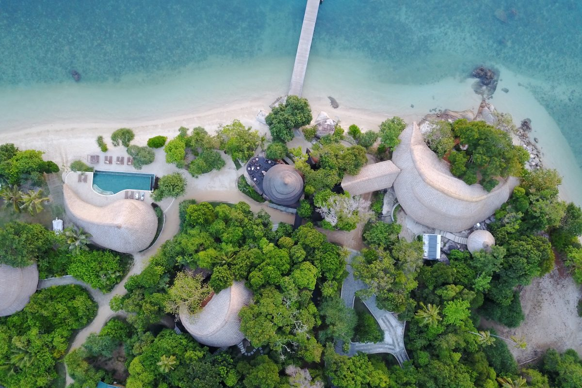 Cempedak Island offers a Robinson Crusoe escape from Singapore