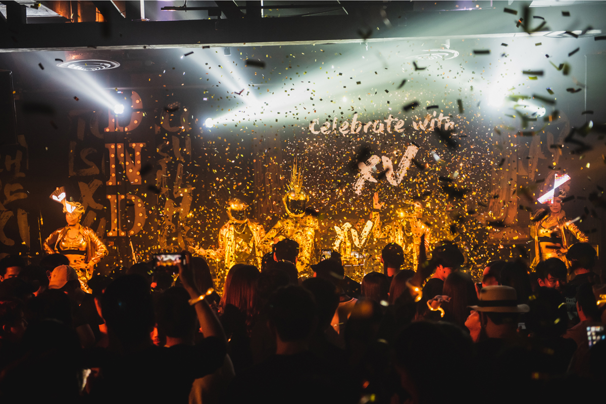 Chivas Regal Celebrates The Launch of Chivas XV With Spectacular 'XV Party'