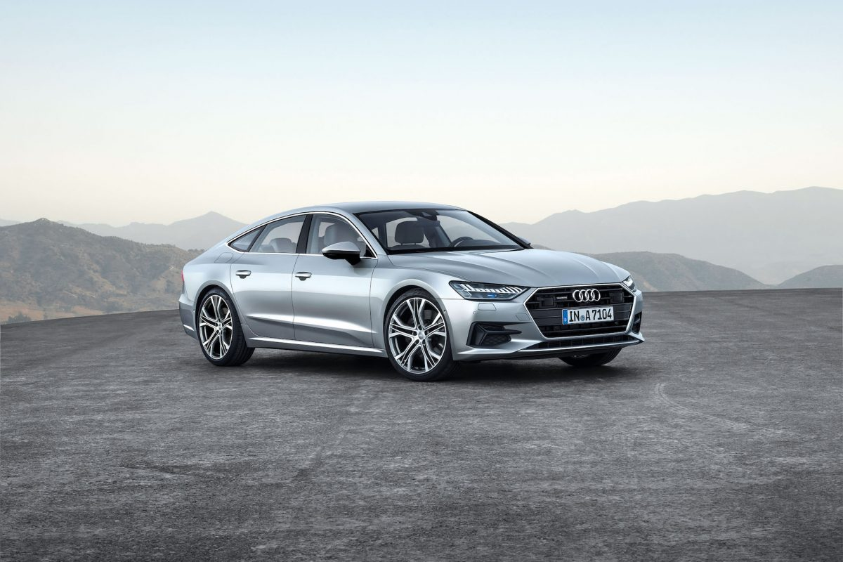 Driving into the future with the new Audi A7 Sportback