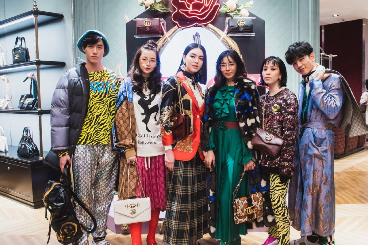 "Gucci Celebrates Latest It Bags ""Arli"" and ""Rajah"" with a Star-Studded Bash"