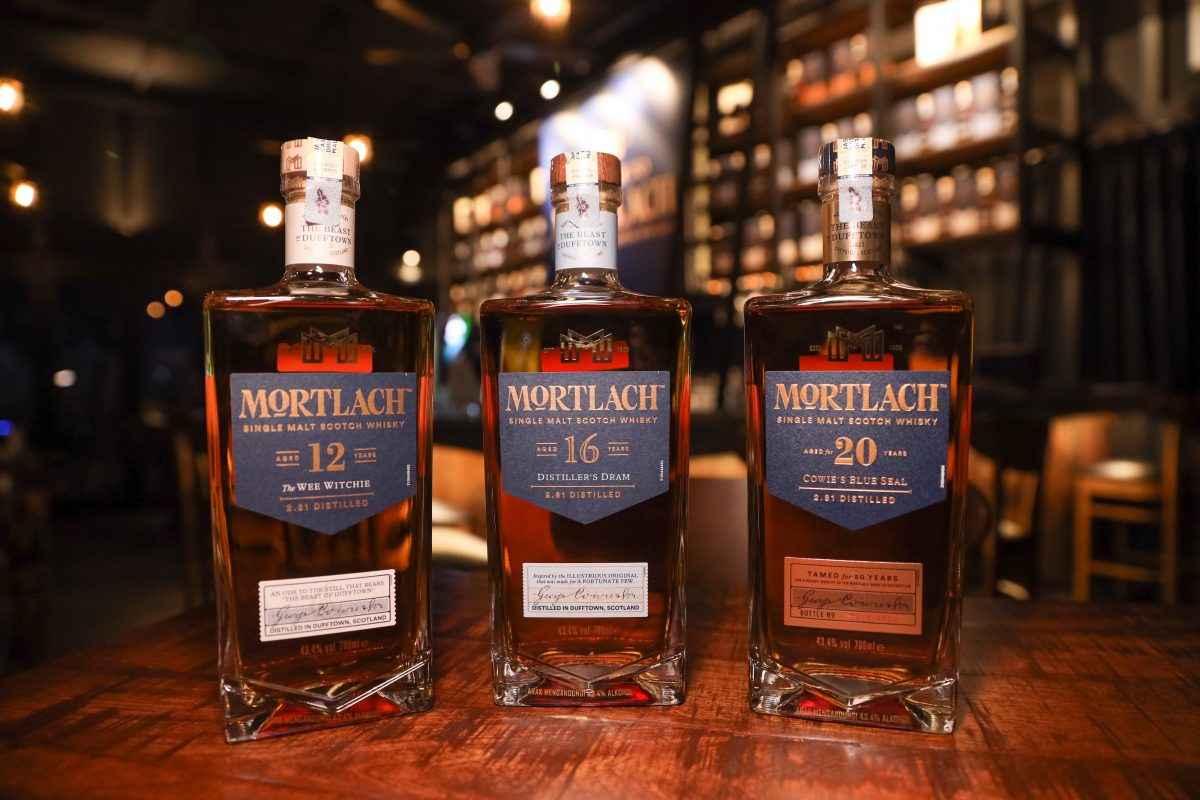 Cheers To The Arrival Of Mortlach Single Malt Scotch Whisky in Malaysia