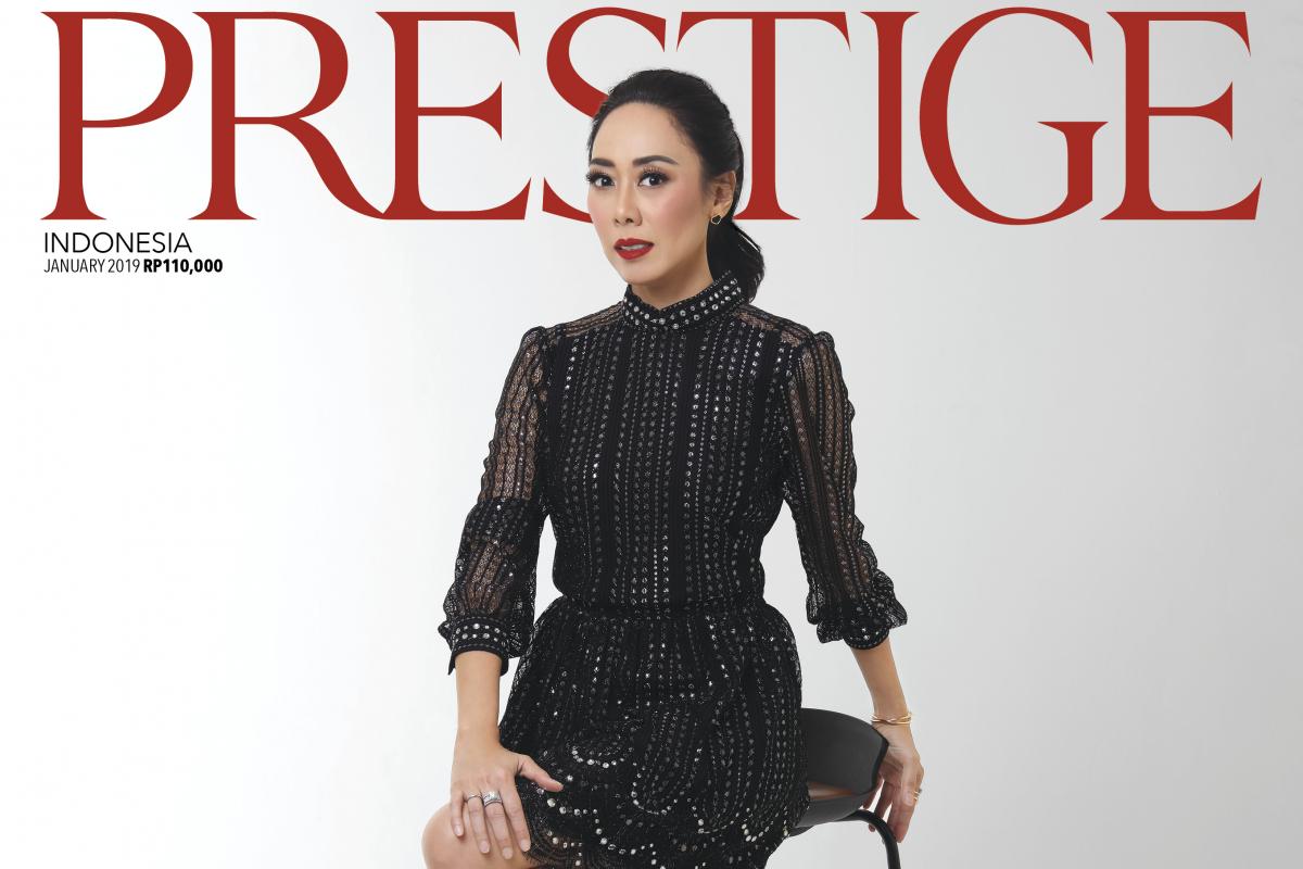 What's Inside Prestige January Issue with Esti Nurjadin