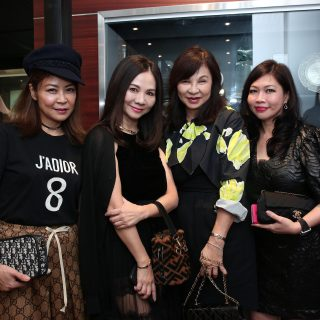 Alicia Thian, Jacelyn Lai, Violet Yeo and Jessie Ho-Thong