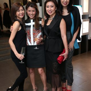 Dolly Cheong, Judy Hunt, Ingrid Pratsaya and Laura Lim