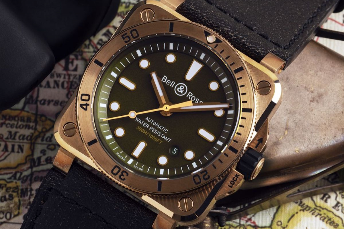 Cortina Watch and Bell & Ross debut the BR 03-92 Diver Bronze Demiurgus