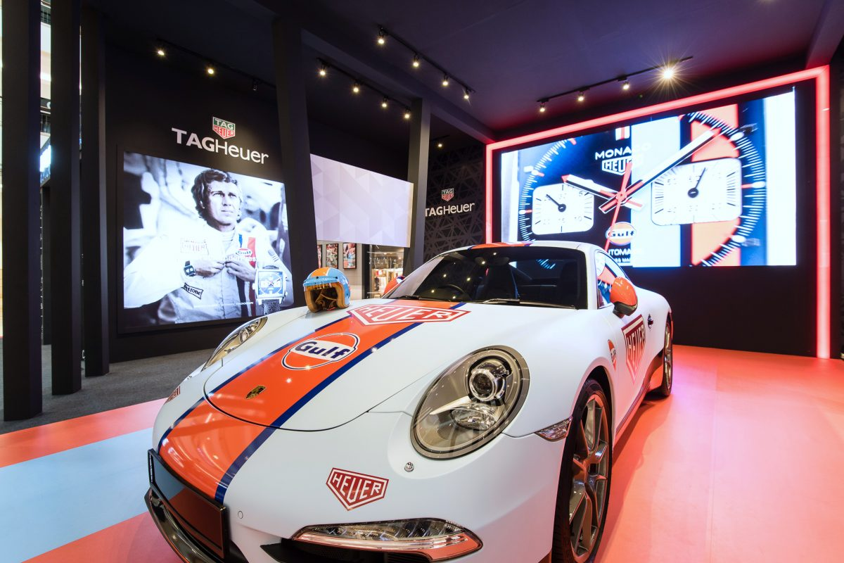 A glimpse inside TAG Heuer's latest pop-up exhibition at Suria KLCC