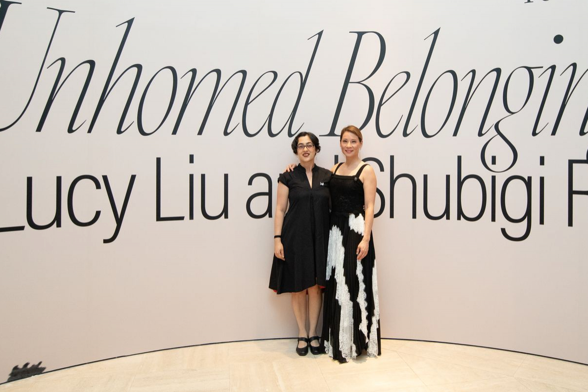 Event Photo Gallery:  Private dinner and opening of Unhomed Belongings with Lucy Liu, Shubigi Rao and Ryan Su