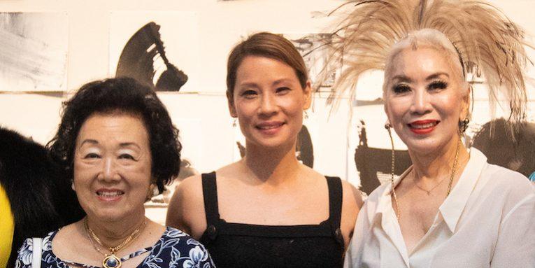 Grace Yeh, Betty Chen, Lucy Liu, Peggy Jeffs and Ryan Su