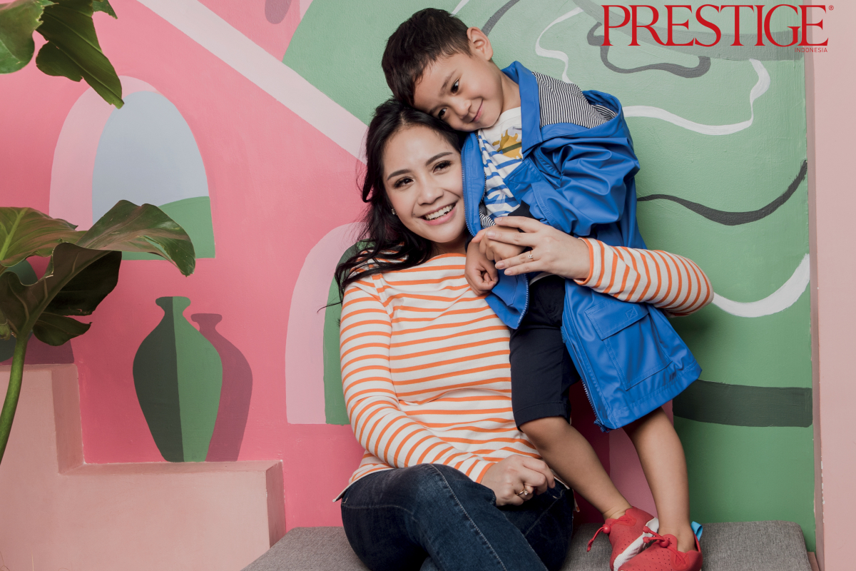 Cuteness Overload with Nagita Slavina, Rafathar, Marsha Tengker, and Baby Ansara in Petit Bateau