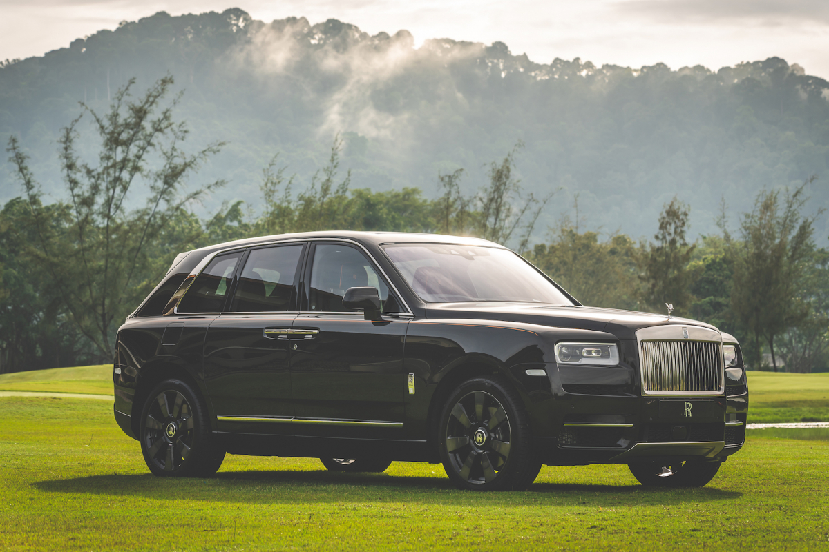 The Rolls-Royce Cullinan officially makes its debut in Malaysia