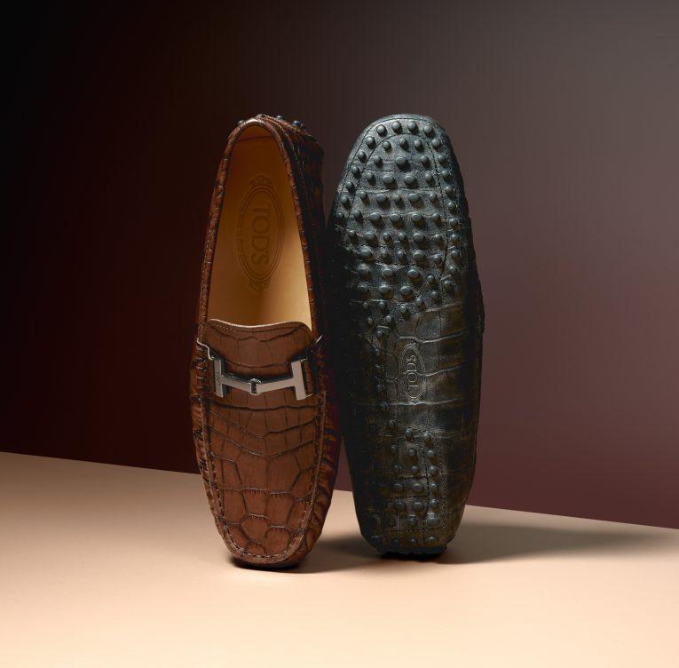 2019春夏鱷魚壓紋豆豆鞋(男款)