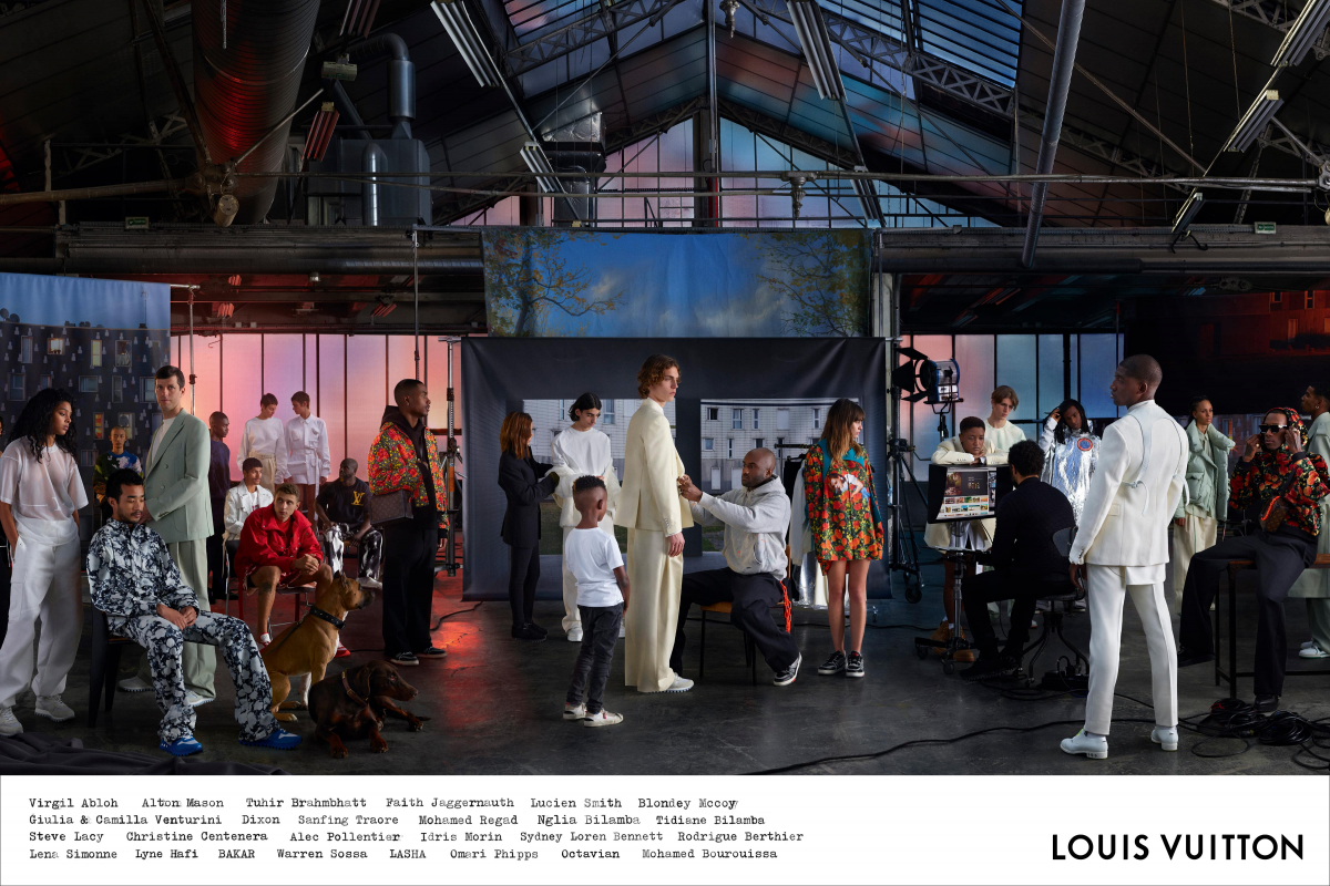 Virgil Abloh's Debut Campaign for Louis Vuitton's SS19 Menswear Collection