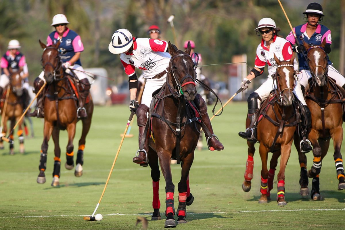 Fight Breast Cancer at the Queen's Cup Pink Polo 2019