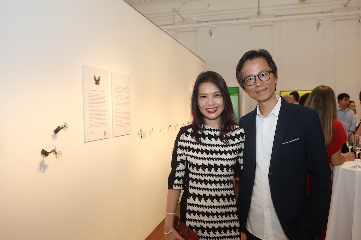 Event photo gallery: The opening of The Contemporary Asian and European Art Exhibition by Galerie Belvedere