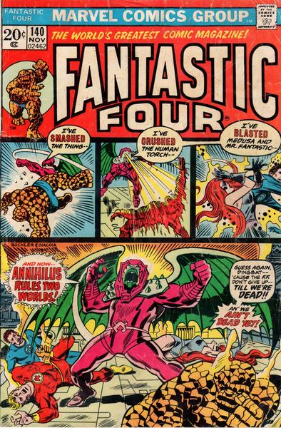 An original Fantastic Four comic