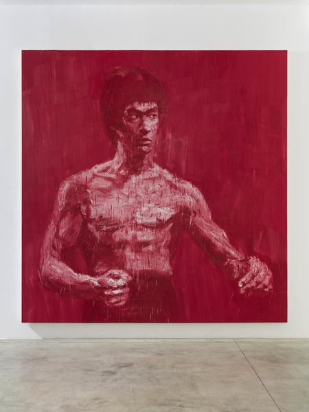"""Bruce Lee"" (2007) by Yan Peiming. Photo: Alessandro Zambianchi"