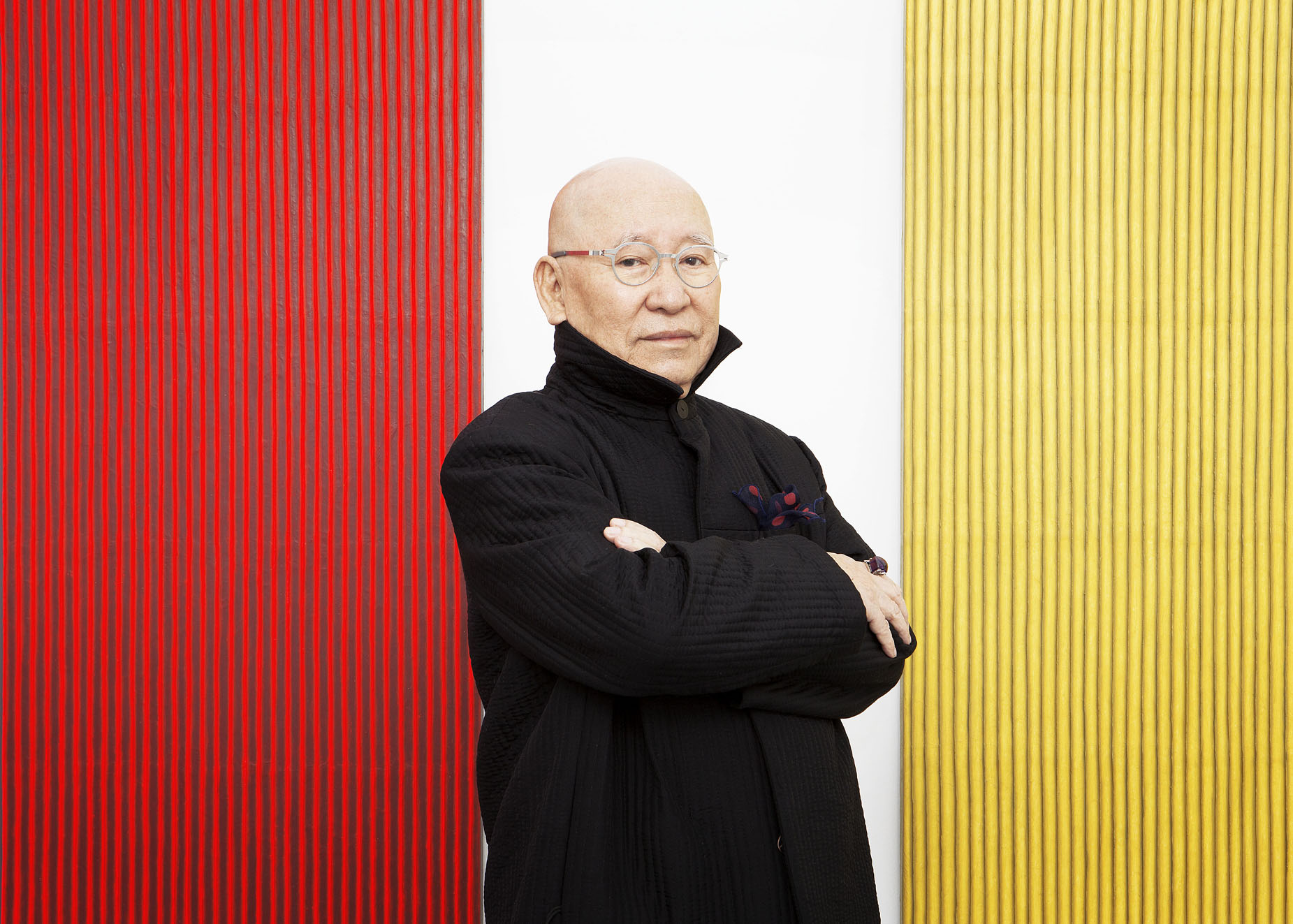 Park Seo-Bo talks painting and Takashi Murakami