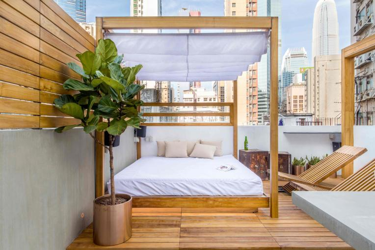 A rooftop designed by Liquid Interiors