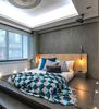 A bedroom designed by Liquid Interiors