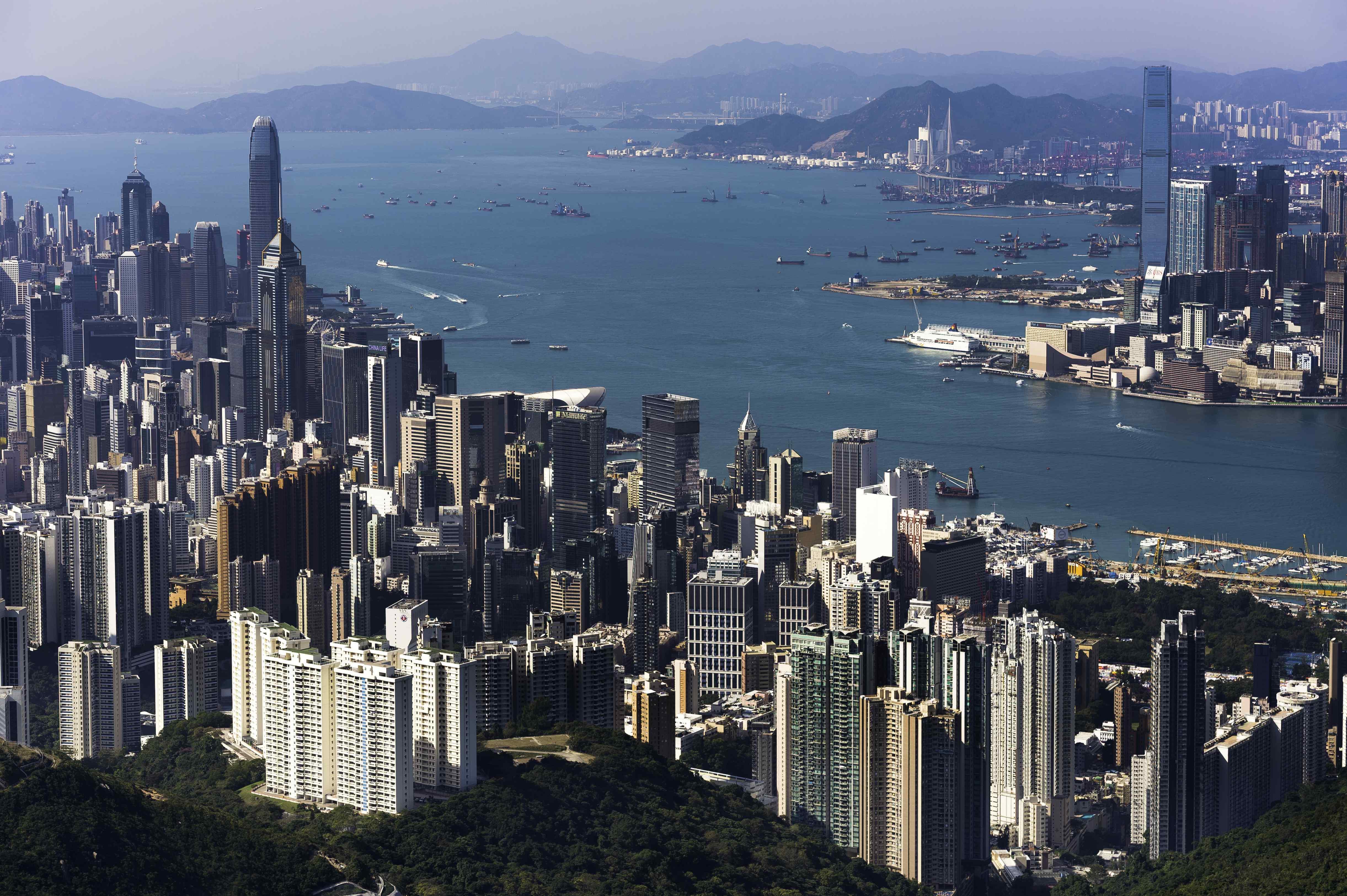 In Hong Kong Island